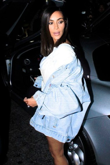Kim Kardashian is seen leaving Kylie Jenner's birthday party at Nice Guy in West Hollywood, CA. Pictured: Kim Kardashian Ref: SPL1328350 010816 Picture by: Splash Splash News and Pictures Los Angeles:310-821-2666 New York:212-619-2666 London:870-934-2666 photodesk@splashnews.com