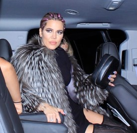 Khloe Kardashian is seen leaving Kylie Jenner's birthday party at The Nice Guy in West Hollywood, CA. Pictured: Khloe Kardashian Ref: SPL1328340 010816 Picture by: Aficionado Group / Khrome Splash News and Pictures Los Angeles:310-821-2666 New York:212-619-2666 London:870-934-2666 photodesk@splashnews.com