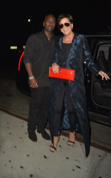 Kris Jenner and Corey Gamble arrive at the Nice Guys in Loas Angeles Pictured: Kris Jenner, Corey Gamble Ref: SPL1328626 310716 Picture by: MONEY$HOT-$HAWN Splash News and Pictures Los Angeles:310-821-2666 New York:212-619-2666 London:870-934-2666 photodesk@splashnews.com